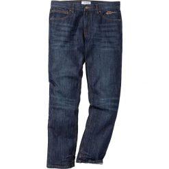 Dżinsy Regular Fit Straight bonprix ciemnoniebieski. Jeansy męskie marki bonprix. Za 59.99 zł.