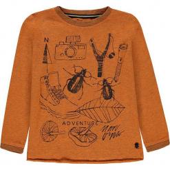 Koszulka w kolorze pomarańczowym. T-shirty dla chłopców marki Reserved. W wyprzedaży za 49.95 zł.
