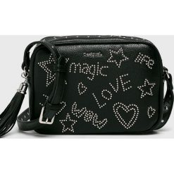 Desigual - Torebka. Czarne torby na ramię damskie Desigual. W wyprzedaży za 169.90 zł.