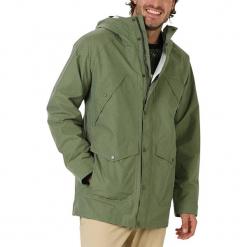 """Kurtka funkcyjna """"Nightcrawler"""" w kolorze khaki. Brązowe kurtki męskie Burton, z aplikacjami, z materiału. W wyprzedaży za 217.95 zł."""