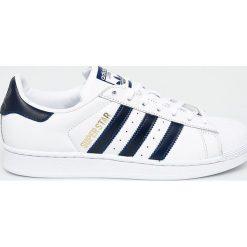 Adidas Originals - Buty Superstar. Szare buty sportowe męskie adidas Originals, z materiału. W wyprzedaży za 319.92 zł.