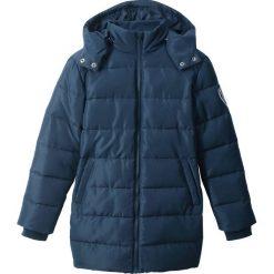 Parka zimowa bonprix ciemnoniebieski. Niebieskie kurtki i płaszcze dla dziewczynek bonprix, na zimę. Za 89.99 zł.