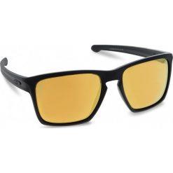 Okulary przeciwsłoneczne OAKLEY - Sliver Xl OO9341-07 Matte Black/24k Iridium. Czarne okulary przeciwsłoneczne męskie Oakley, z tworzywa sztucznego. W wyprzedaży za 449.00 zł.