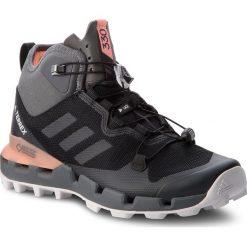 Buty adidas - Terrex Fast Mid Gtx-Surround GORE-TEX AH2250  Cblack/Grefiv/Chacor. Czarne trekkingi męskie Adidas, z gore-texu. W wyprzedaży za 519.00 zł.