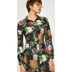 Trendyol - Sukienka. Szare sukienki damskie Trendyol, z elastanu, casualowe. W wyprzedaży za 99.90 zł.