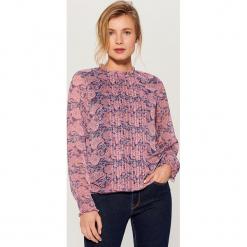 Wzorzysta koszula z ozdobnym panelem - Wielobarwn. Koszule damskie marki SOLOGNAC. Za 119.99 zł.