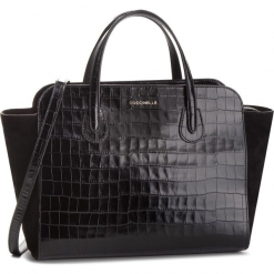 Torebka COCCINELLE - DQ2 Lulin Special E1 DQ2 18 01 01 Noir 001. Czarne torebki do ręki damskie Coccinelle, ze skóry. Za 1,699.90 zł.
