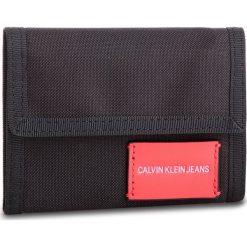 Duży Portfel Męski CALVIN KLEIN JEANS - Sp Essential + Canvas Billfold K40K400841 001. Czarne portfele męskie Calvin Klein Jeans, z jeansu. Za 179.00 zł.