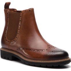 Sztyblety CLARKS - Batcombe Top 261281457  Dark Tan Leather. Botki męskie marki Giacomo Conti. W wyprzedaży za 349.00 zł.