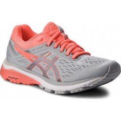 Buty ASICS - GT-1000 7 1012A030  Mid Grey/Flash Coral 021. Brązowe obuwie sportowe damskie Asics, z materiału. W wyprzedaży za 349.00 zł.
