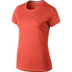 Nike Koszulka damksa Miler pomarańczowa r. M (686911 842). T-shirty damskie Nike. Za 119.00 zł.